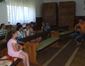 Nyári biblia tábor Körösszegapátiban
