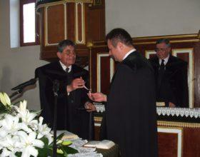 Új református lelkész kezdte meg szolgálatát