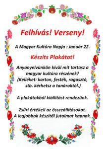 Felhivas Magyar Kultura Napja 2014
