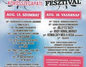 2015. augusztus 15-16-án megrendezésre kerülő IV.Kun László Fesztivál programja