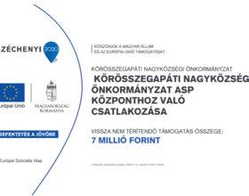 Körösszegapáti Nagyközségi Önkormányzat ASP központhoz való csatalkozása