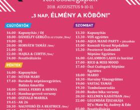 Kun László Fesztivál programja