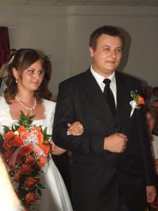 Cs.Tibor és B.Beáta esküvője